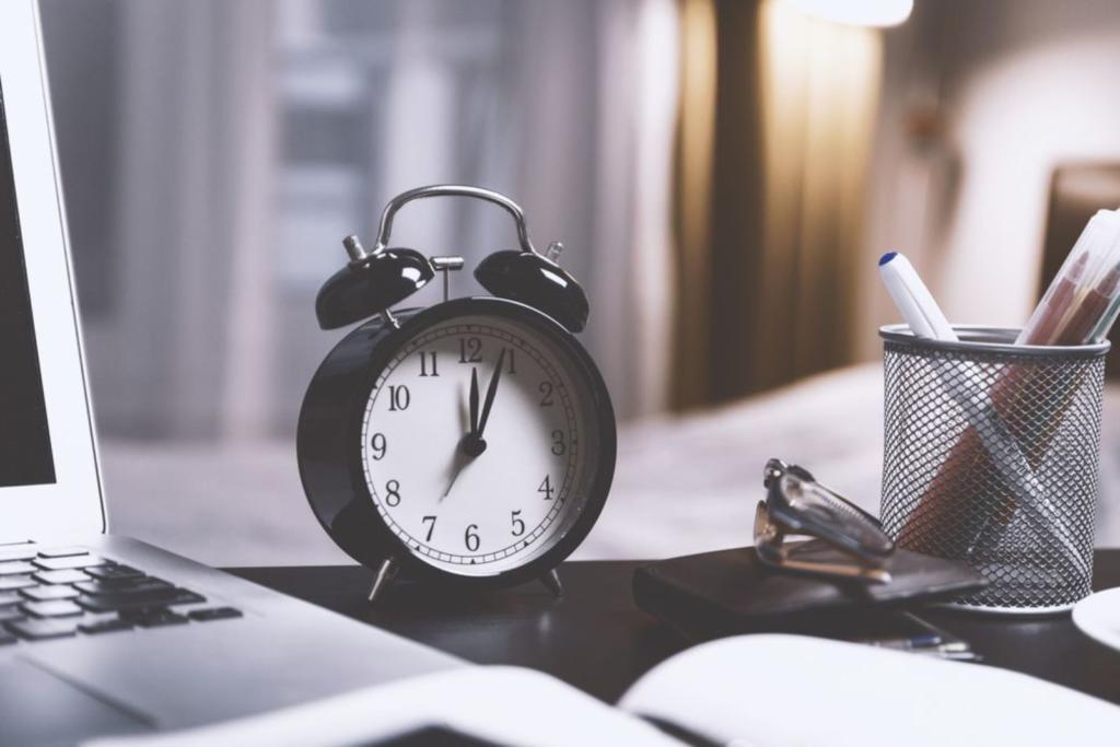 sveglia con timer per gestire il tempo