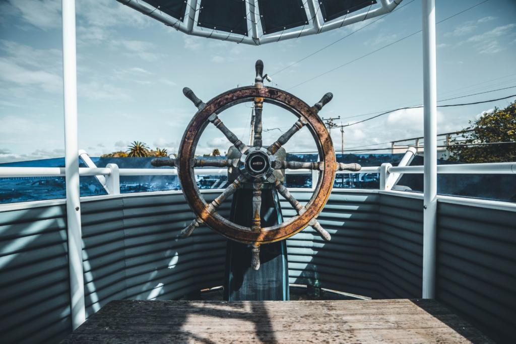 timone della nave
