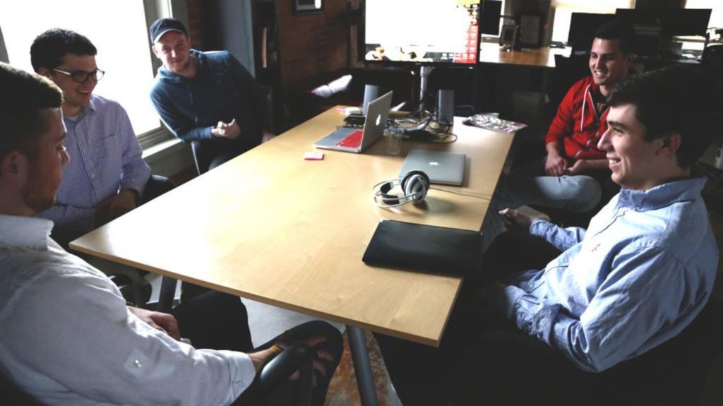 team a lavoro in ufficio