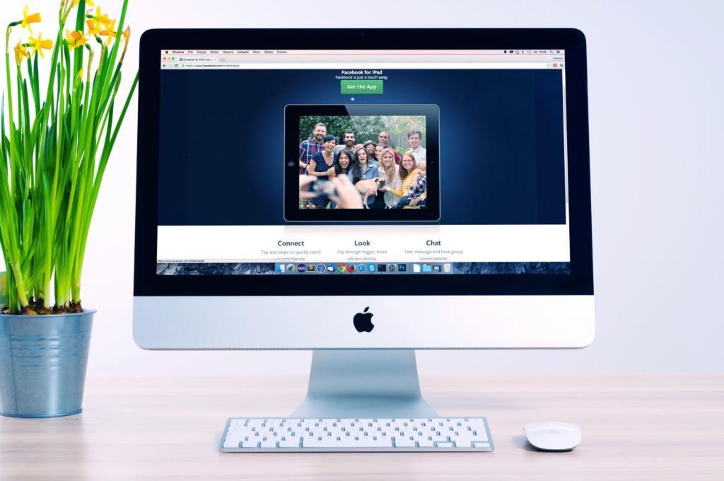 computer con design di un sito web