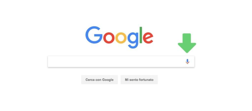 ricerca vocale di google