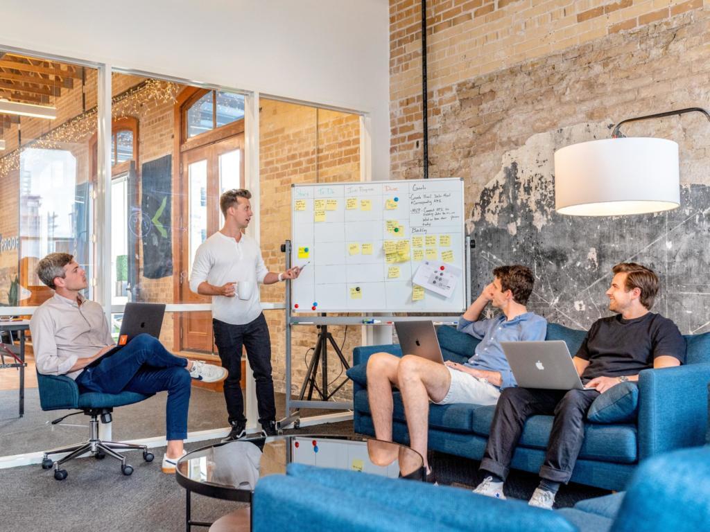 riunione startup