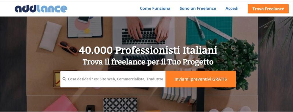 lavorare come freelance siti