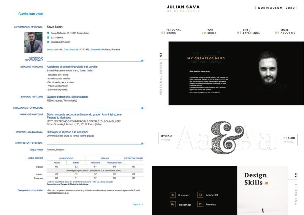 CV UX Designer