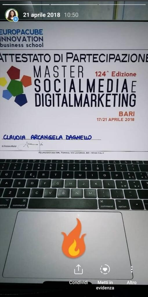 claudia dagnello studiare digital marketing