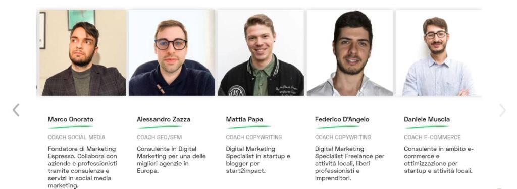 Corsi start2impact digital marketing