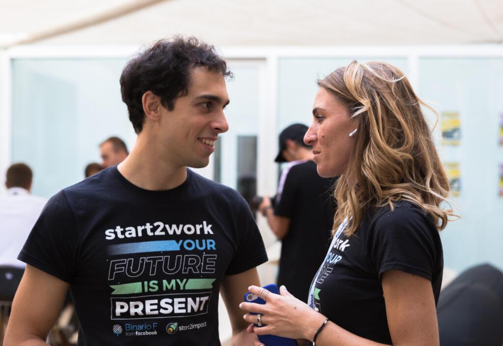 gherardo e virginia fondatori di start2impact hanno dovuto affrontare molti fallimenti prima di portare al successo la loro startup