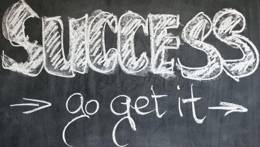 avere successo con mentalità statica e dinamica