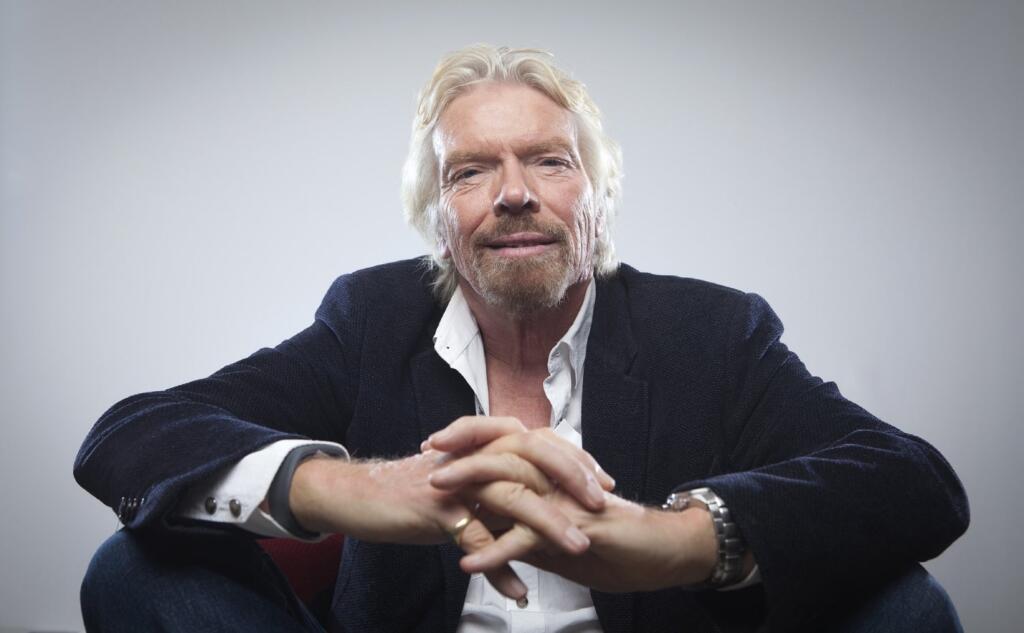 persone di successo Richard Branson fondatore del Virgin Group