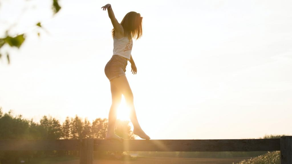 ricerca dell'equilibrio nella propria vita