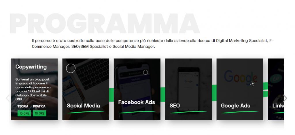 studiare digital marketing su start2impact